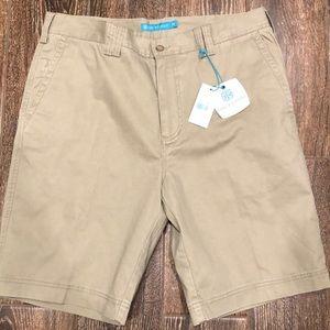 NWT Tori Richard Khaki Shorts Size 34